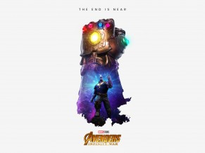 Thanos Infinity Gauntlet Artwork 5K