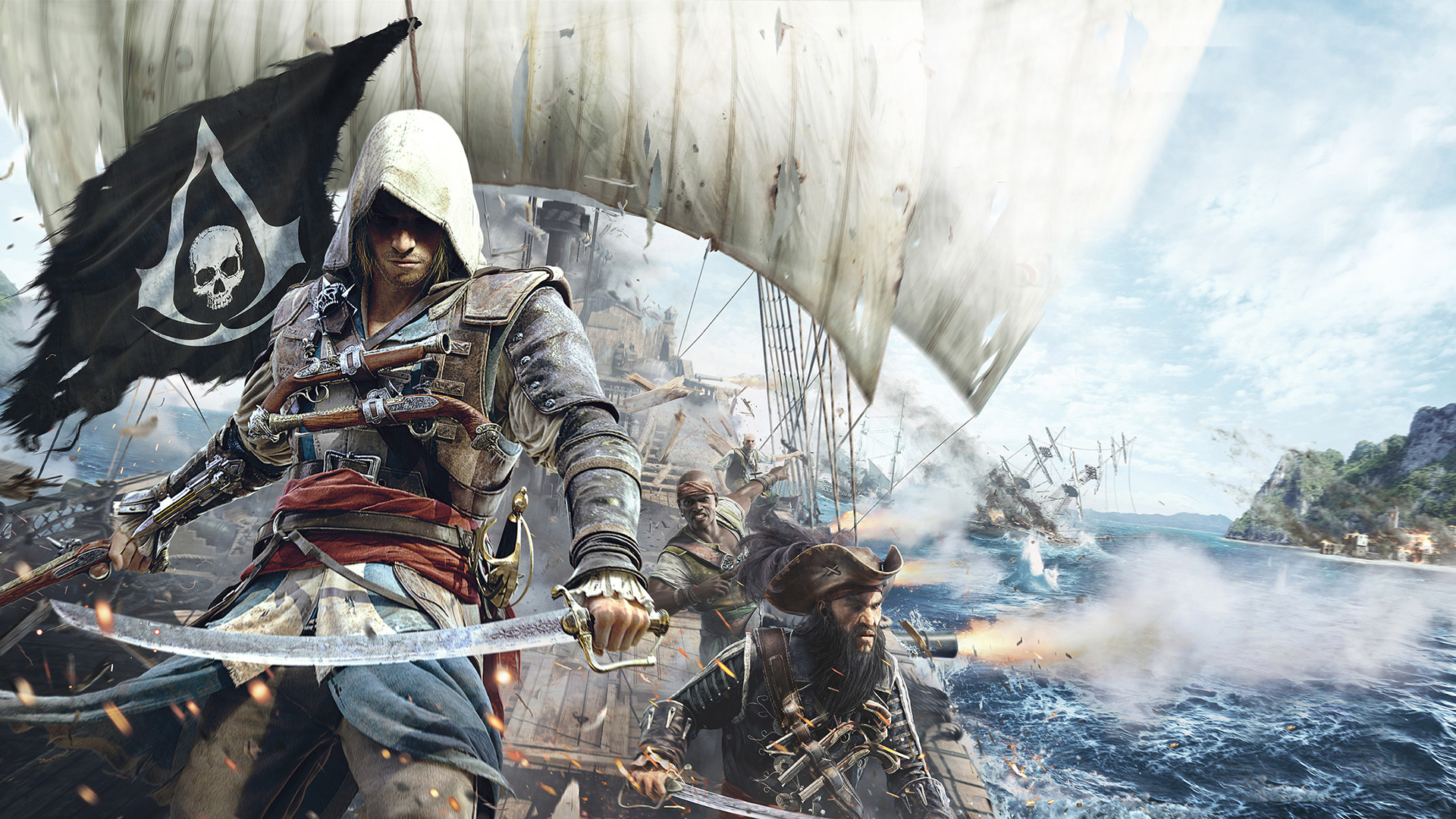 Assassins Creed 4 Black Flag Game Wallpapers Wallpapers Hd