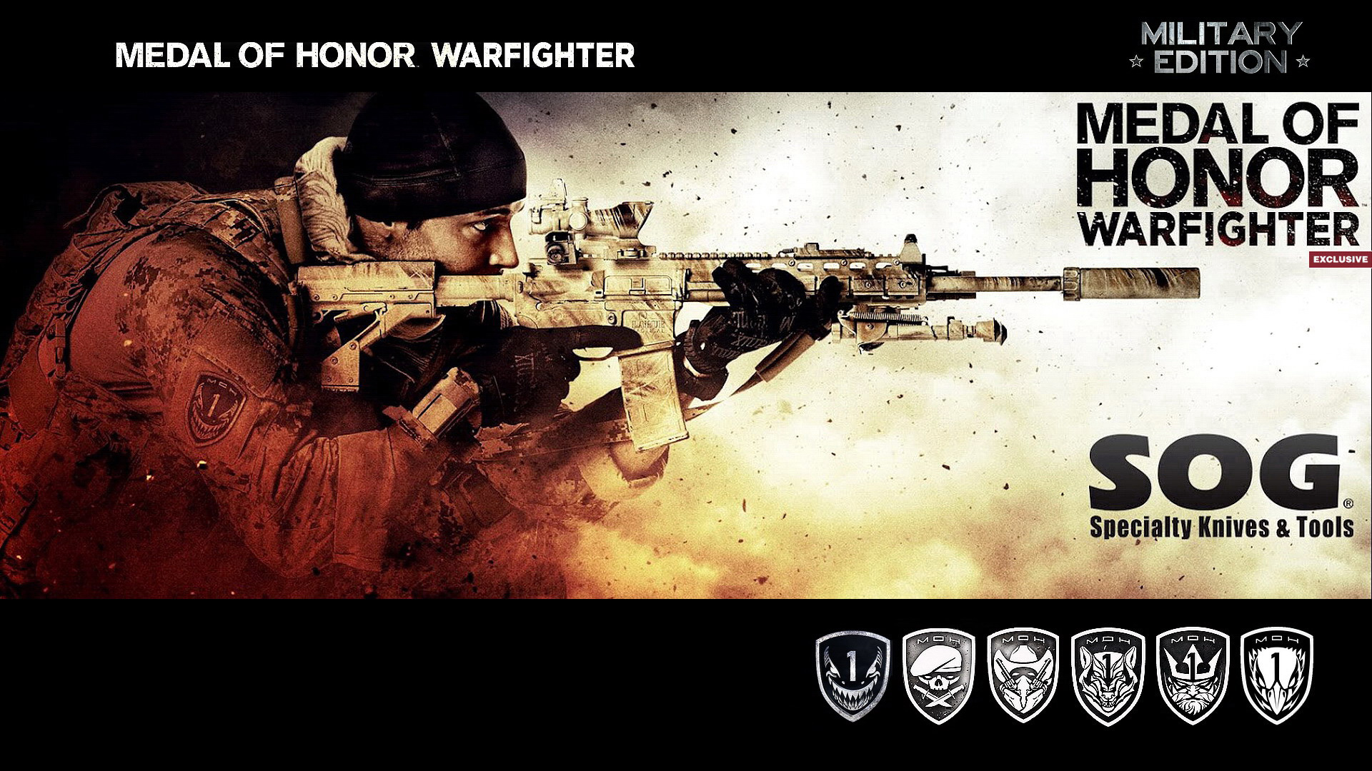 Medal Of Honor Warfighter Military Edition Wallpapers Wallpapers Hd