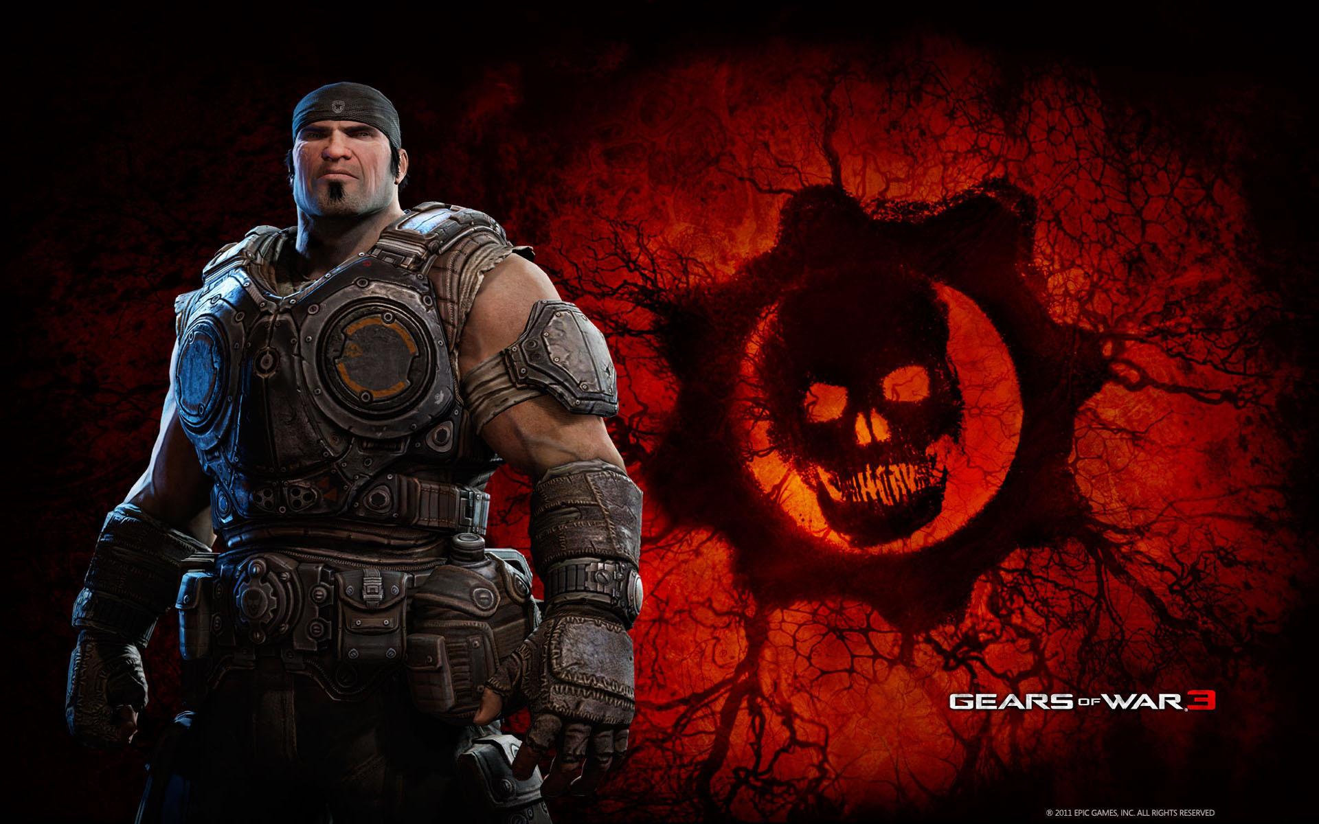 Marcus In Gears Of War 3 Wallpapers Wallpapers Hd