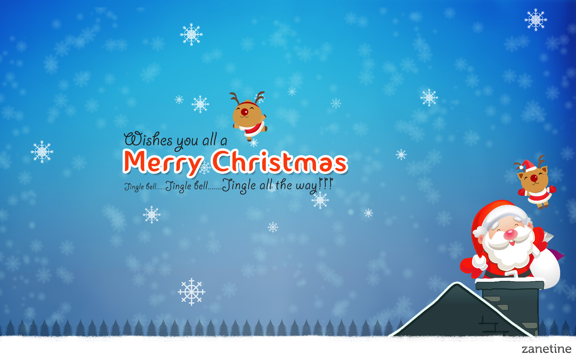 merry christmas jingle bells wallpapers | wallpapers hd