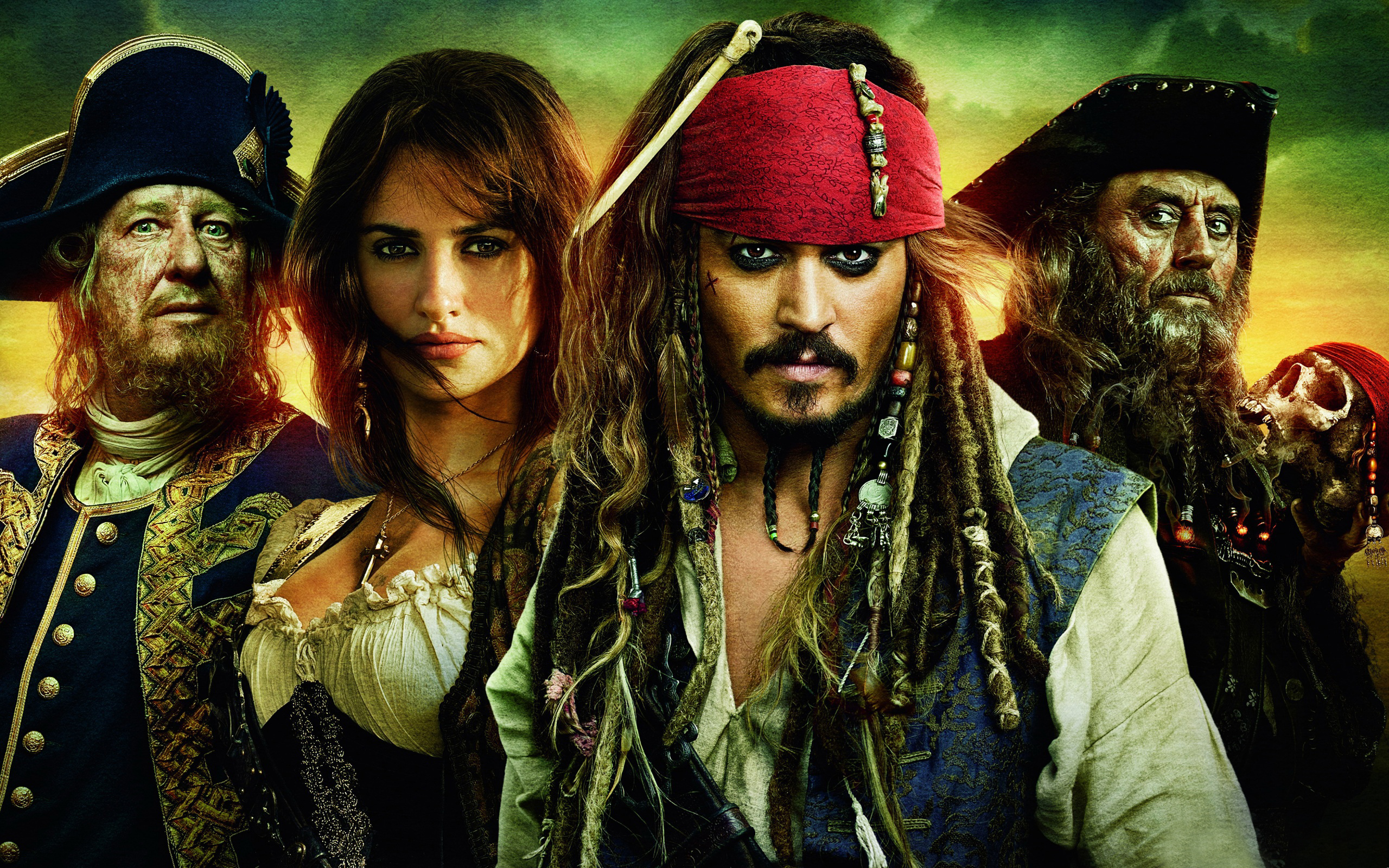 Pirates Of The Caribbean Stranger Tides Wallpapers Wallpapers Hd