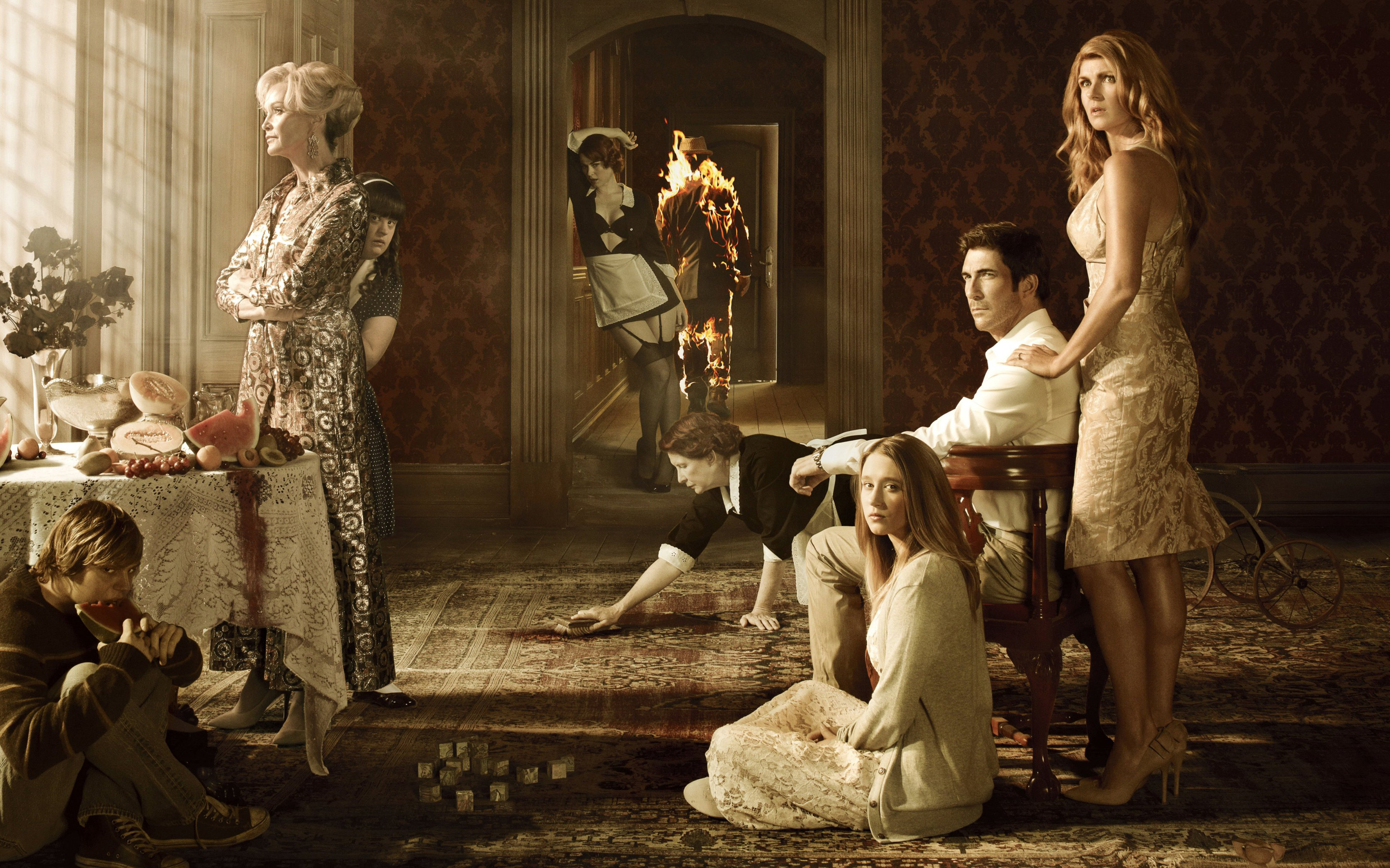 American Horror Story Tv Series Wallpapers Wallpapers Hd