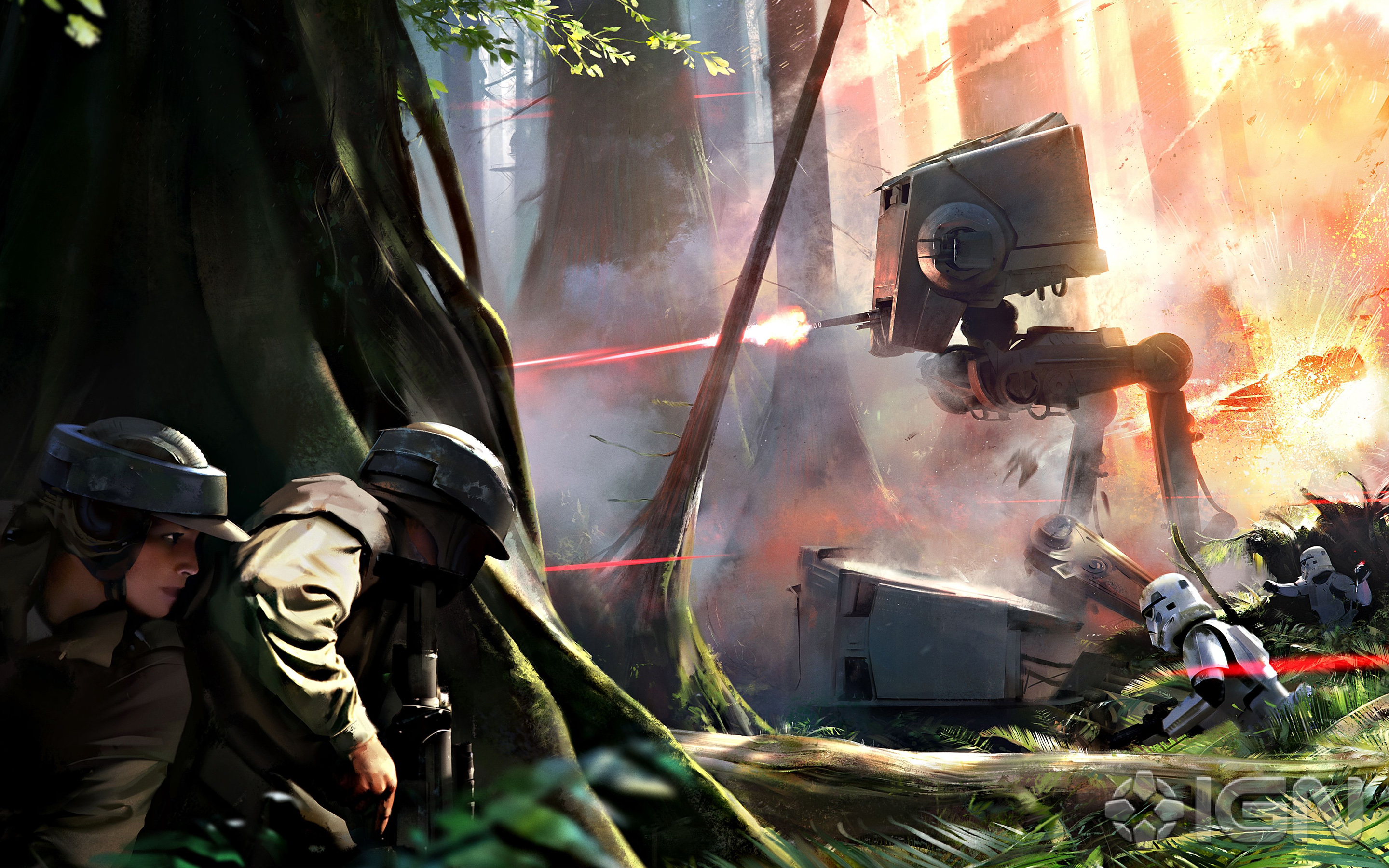 Star Wars Battlefront Game Wallpapers Wallpapers Hd