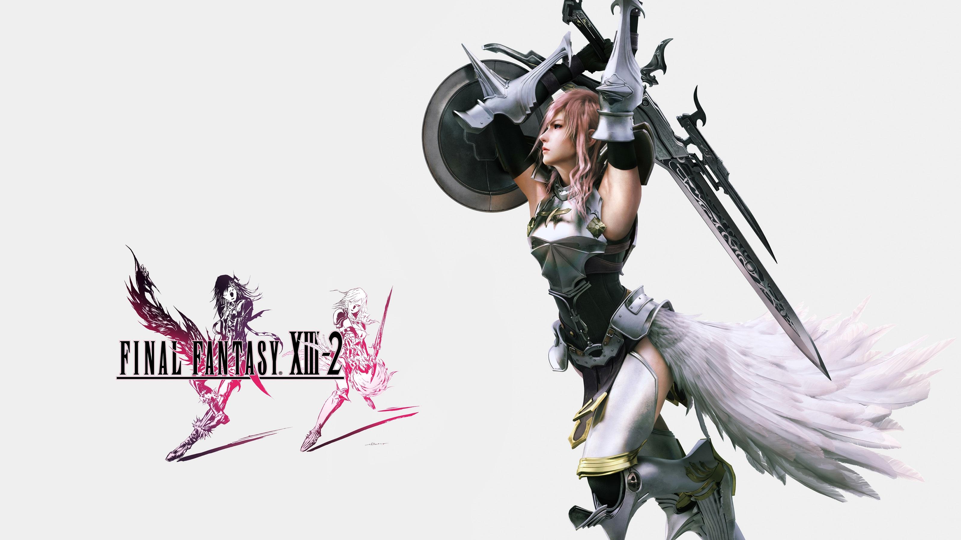 Final Fantasy Xiii 2 Lightning Wallpapers Wallpapers Hd