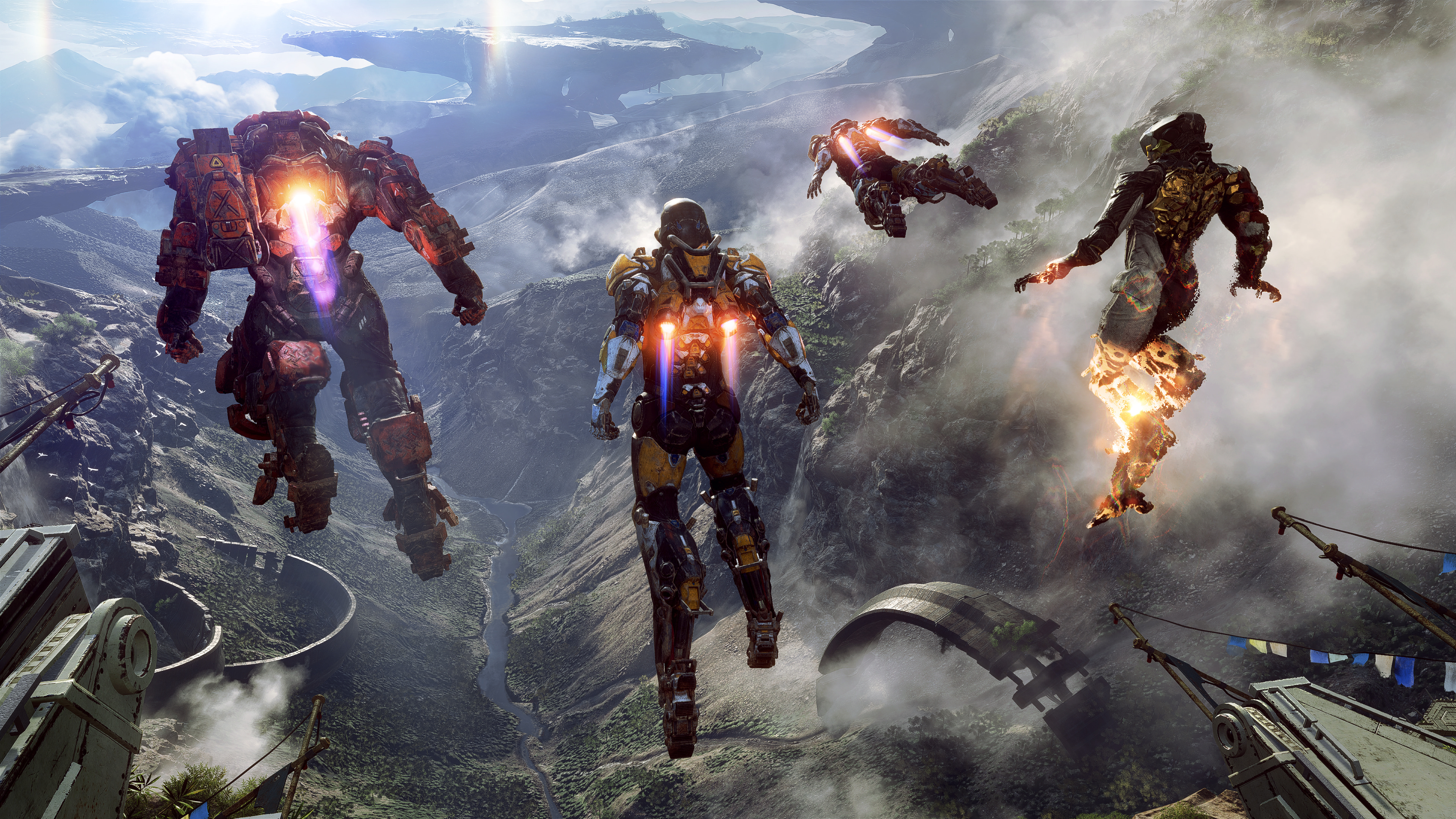 Anthem 2019 Game 4k Wallpapers Wallpapers Hd