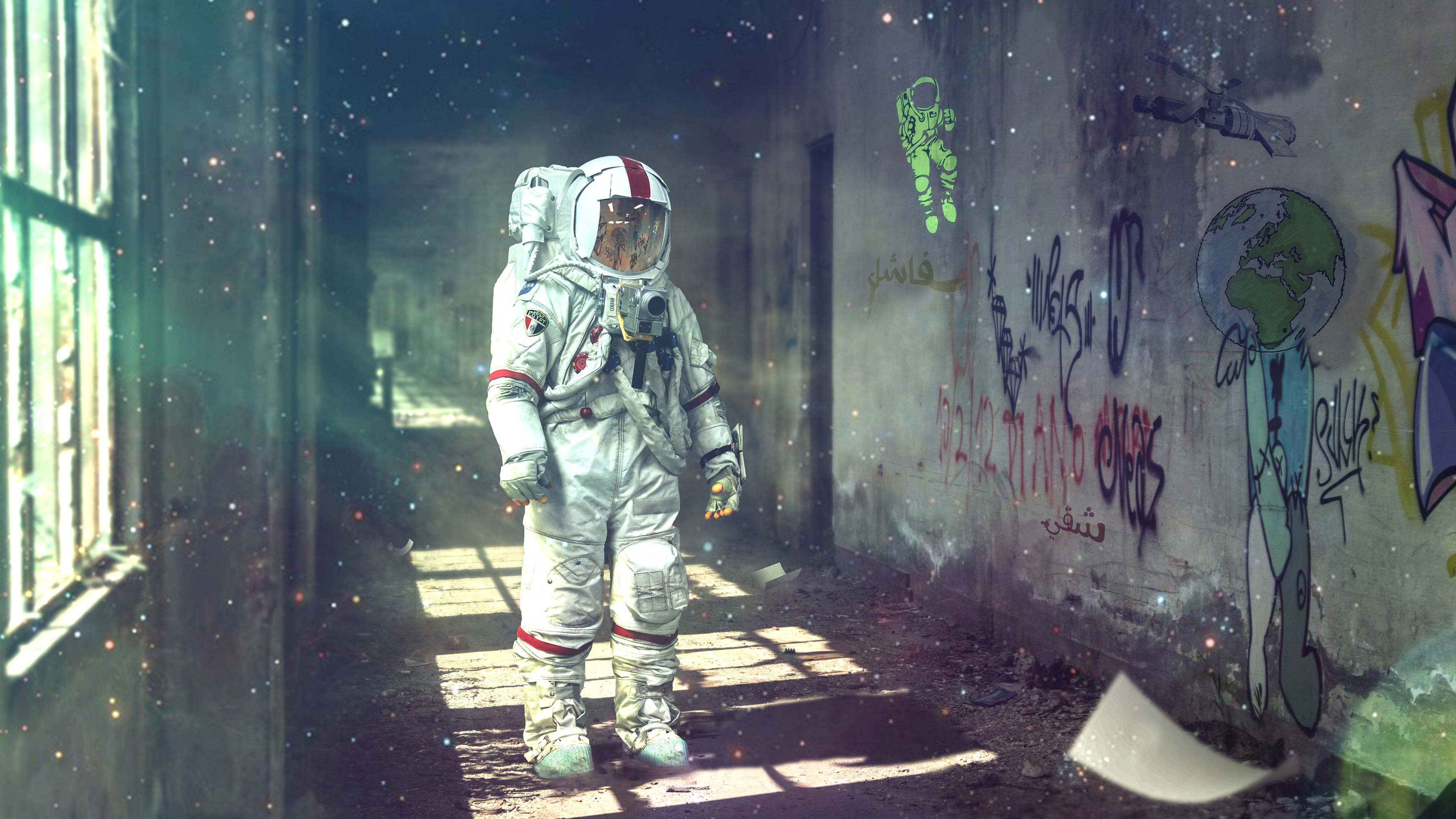 Astronaut Dream 4k Wallpapers