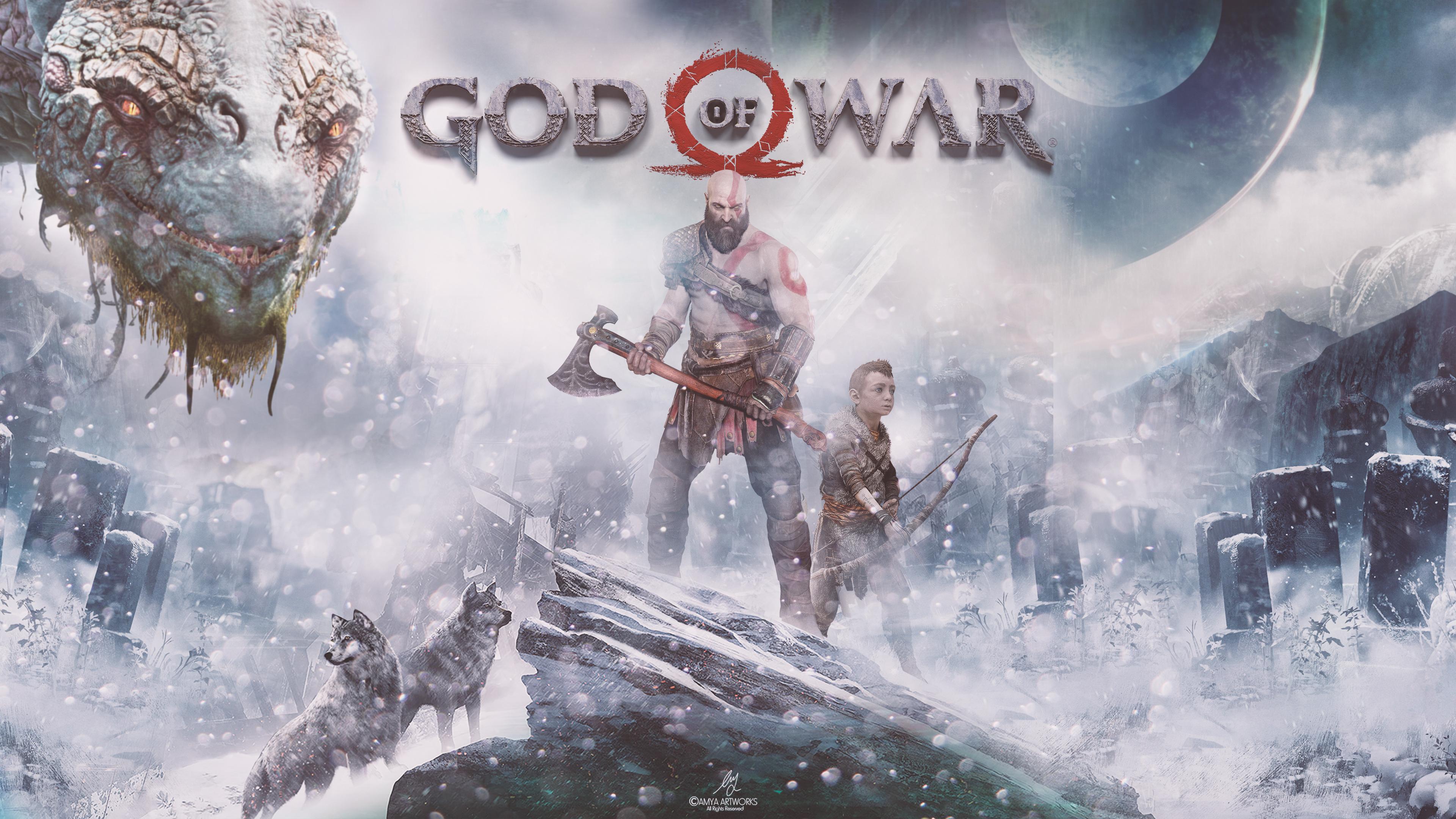 God Of War 4k Wallpapers Wallpapers Hd