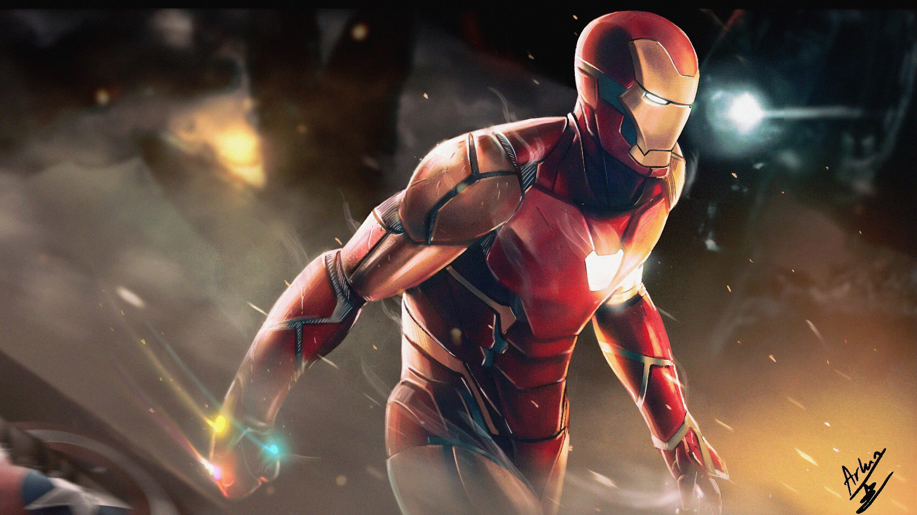 Iron Man In Avengers 4 4k Wallpapers Wallpapers Hd