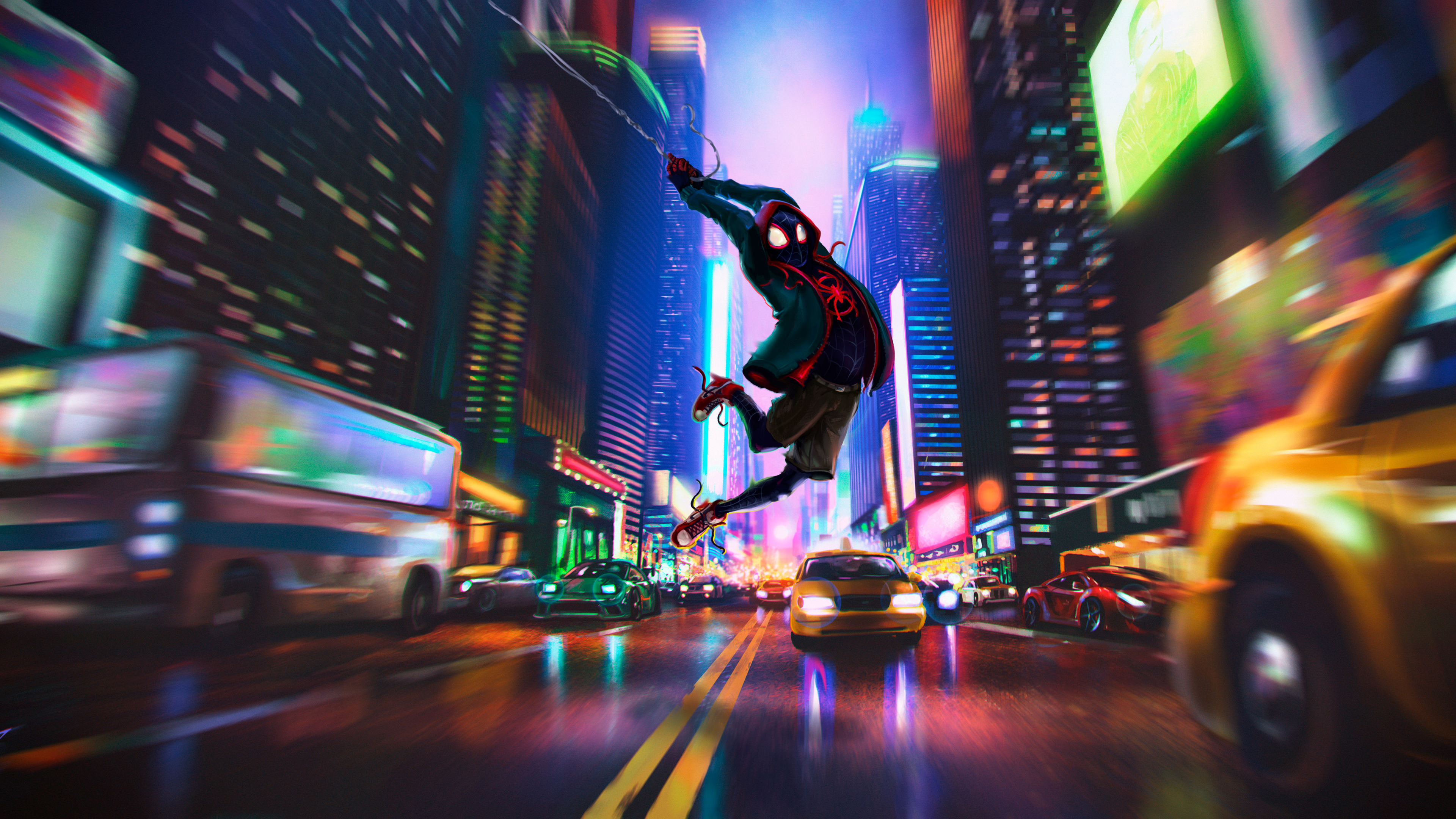Spider Man Into The Spider Verse 4k 8 Wallpapers Wallpapers Hd