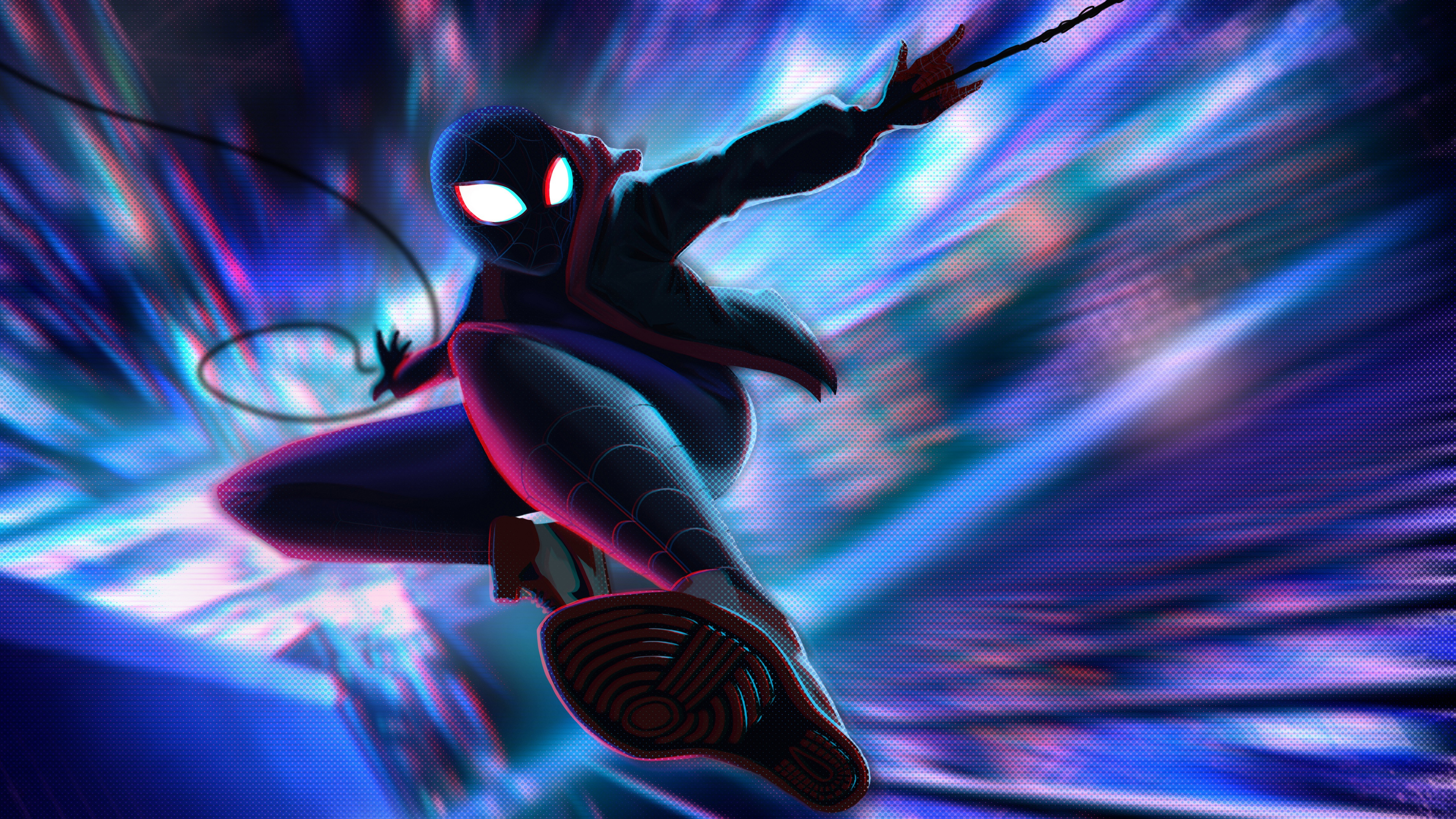 Miles Morales Spider Man Into The Spider Verse 4k 5k Wallpapers