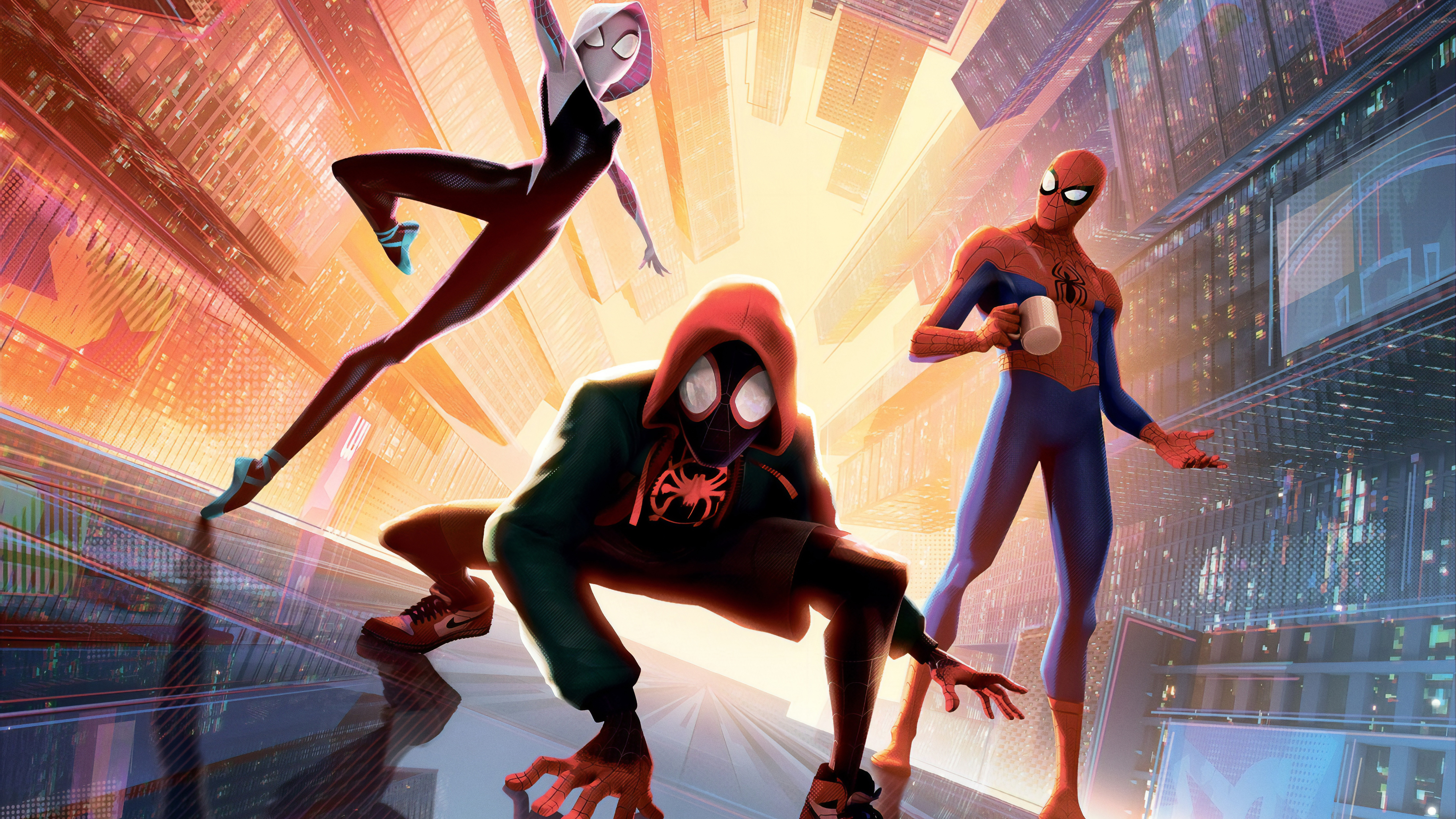 Spider Man Into The Spider Verse 4k 5k Wallpapers Wallpapers Hd